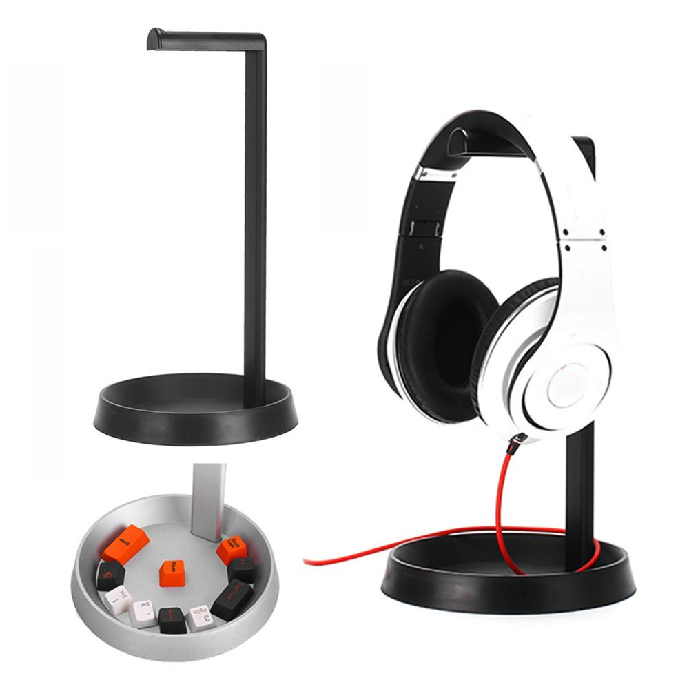 Aluminum Alloy Earphone Hanger Holder Headphone Desk Display Headset Stand
