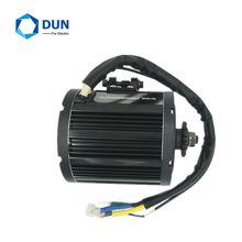 QS 138 4000W 90H 7500W Air Cooled Mid Drive Motor Max Continous 72V 100KPH For High Speed Motorcycle