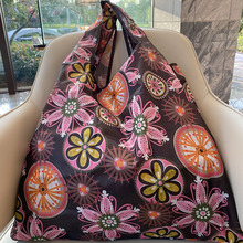 Tote-Bag Handbag Environmental-Protection-Bag Oxford-Cloth Large-Size Reusable Women's