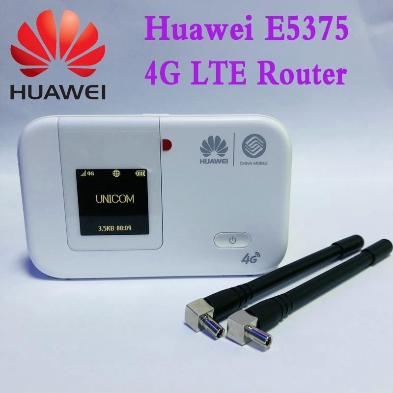 4g tdd fdd de huawei e5375 4g lte wifi com antena