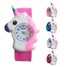 New 2020 Fashion Cool horse Cartoon Baby Watch for Children Girls Digital Watches Kids Boys Christmas Gift Quartz Wristwatch