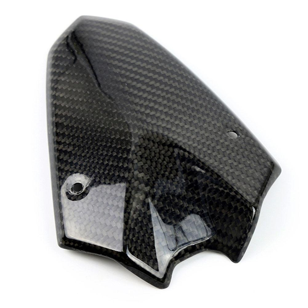 Dragonpad Motorcycle Carbon Fiber Wind Shield Front Headlight Fairing Cover for Kawasaki Z1000