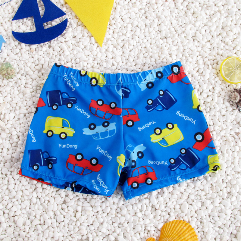 , Children Cute Cartoon Infant Swimming Pool Gay Hot Springs Boxer Baby CHILDREN'S Swimming Trunks