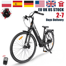 Electric Bike 28 Inch City Commueter Bicycle 250W Mens Women's Ebike with Bafang M200 Torque Sensor Motor 700C Urban E-bike140KM