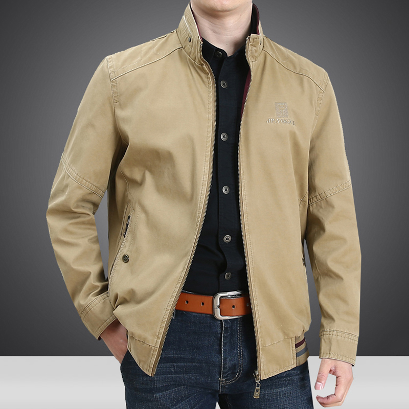 Vintage 5XL Mens Jacket and Coats Cotton Spring and Autumn Double-sided Streetwear Business Men's Coats Plus Size XXXXXL A662