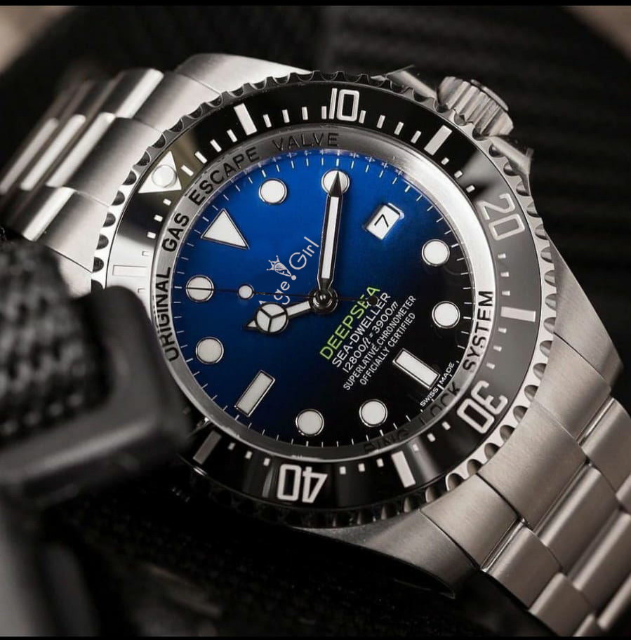 Luxury Brand New Men Ceramic Bezel 44mm Stainless Steel 116660 Automatic Mechanical Black Blue Casual Sapphire Glass Watches AAA