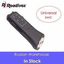 Pulsante volante universale per auto telecomando autoradio navigazione GPS DVD 2 Din telecomando cablato Android 5 tasti