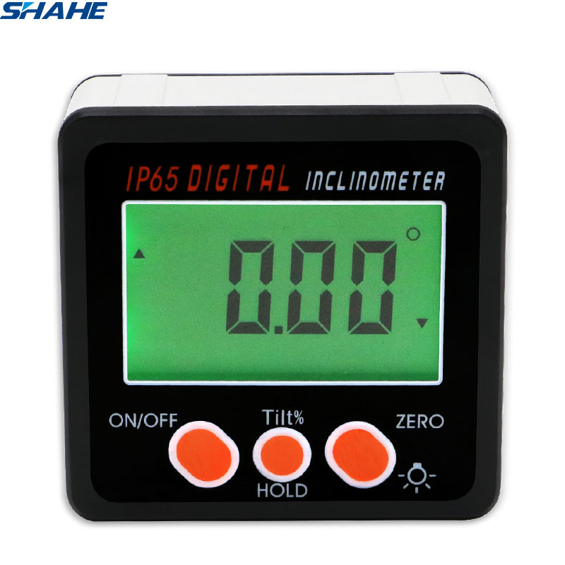 shahe Digital Level Protractor Inclinometer Magnetic Level Angle Meter Angle Finder Level Box Digital Angle Gauge(China)