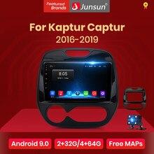 Junsun V1 2G + 32G Android 10.0 DSP autoradio multimédia lecteur vidéo pour Renault Kaptur Captur 2016-2019 Navigation GPS no 2 din