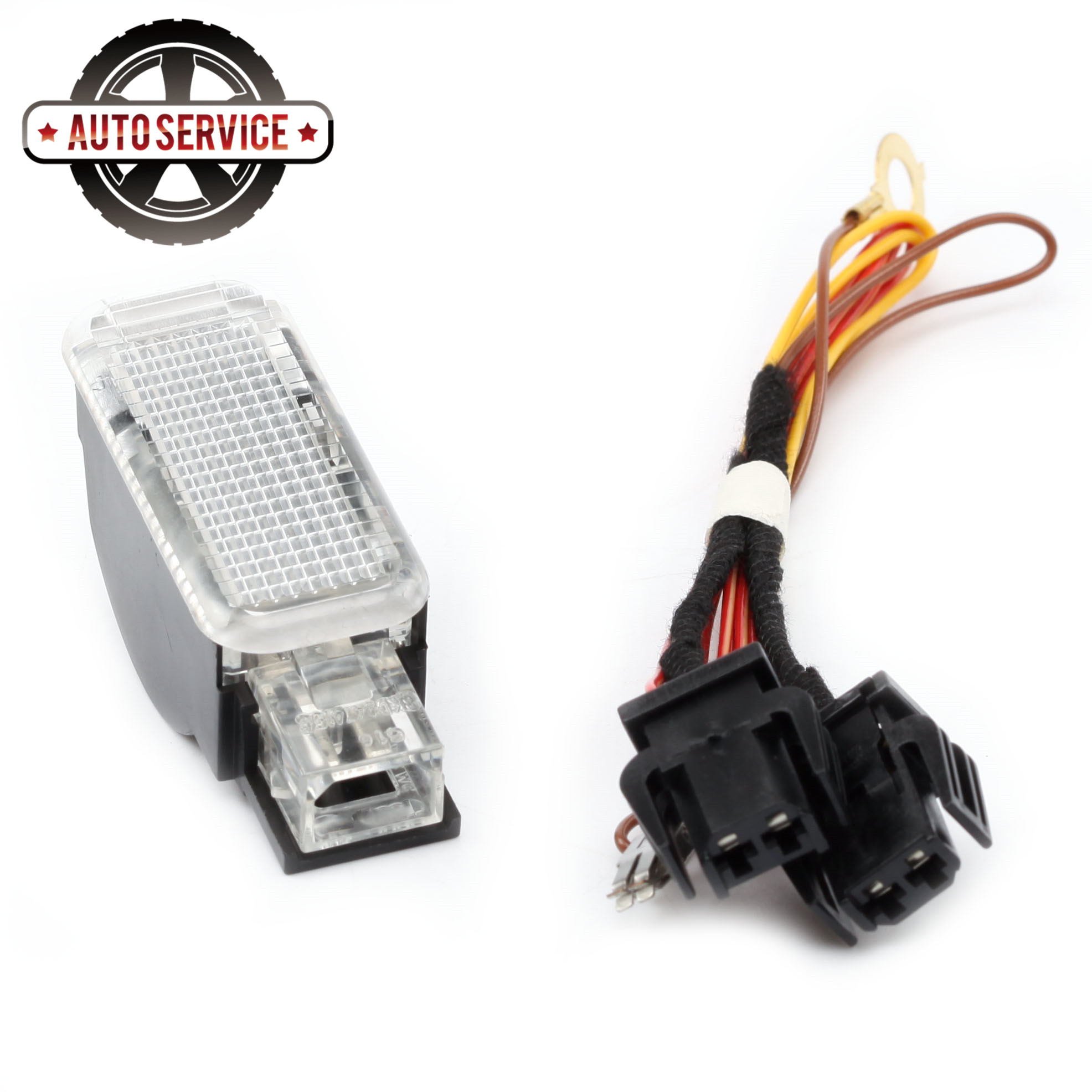 New 8KD 947 415 C Glove <font><b>Box</b></font> <font><b>Lights</b></font> Harness LED Kit For VW Phaeton Sharan Skoda Seat Audi A1 <font><b>A2</b></font> A3 A4 A5 A6 Q3 Q5 Q7 TT 8D0947415 image