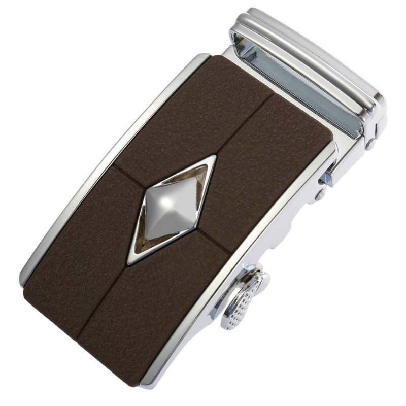 New Amazing Stripes Design Men's Belt Buckle Automatic Belts Buckles Fit 3.5cm Designer Belts Men High Quality Luxury LY136-749