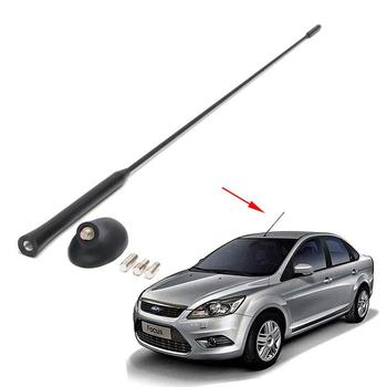 1Set 21.5 inches Auto Antenna Base Kit for Ford / Focus 2000-2007 Car Roof Mast 21 5 length black car antenna roof am fm aerial car stereo radio antenna car accessory for ford focus 2000 2007