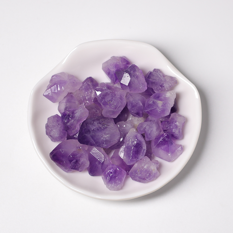 Natural Amethyst Healing Stone Amethyst Mineral Specimens Raw Stone Crystal Gifts DIY Jewelry Aquarium Decor