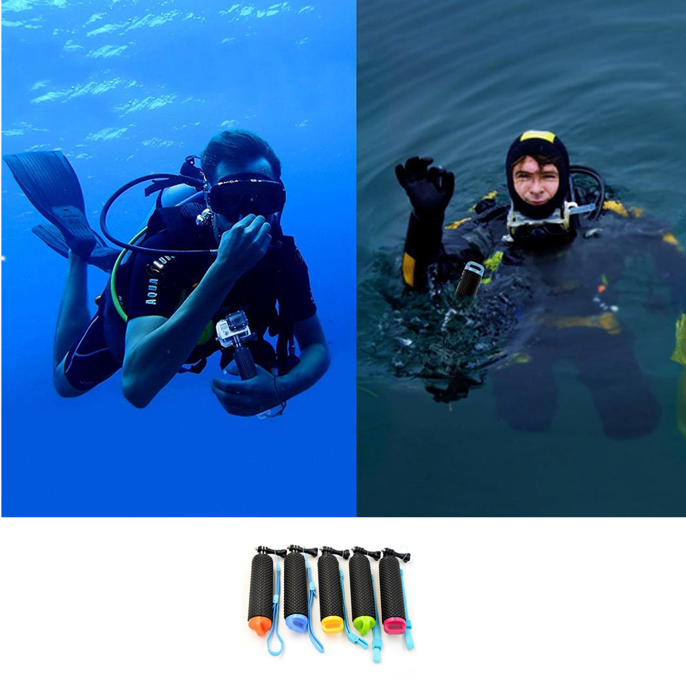 Water Floating Hand Grip Handle Mount Float accessories for Go Pro Gopro Hero 8 7 6 5 4 Xiaomi Yi 4K SJ4000 SJ5000 Action Camera 6