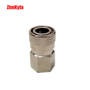 "Image 3 - Paintball PCP Air Gun Rifle Charging Fill Fitting 8mm Copper/Stainless Quick Disconnect Connector 1/8"" NPT Female Socket Realse"