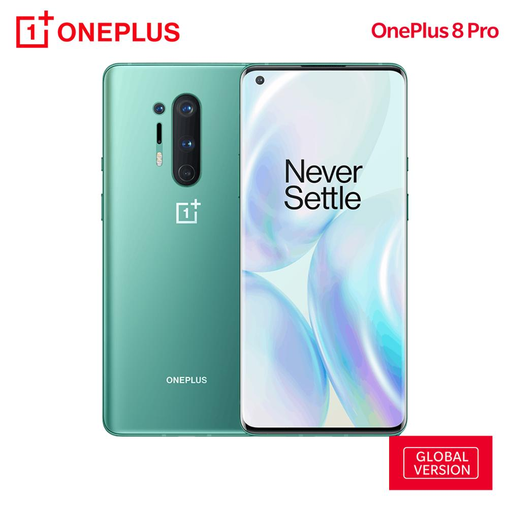 OnePlus 8 Pro Global Version 12GB RAM 256GB ROM 5G Smartphone Snapdragon 865 48MP Quad Camera 120Hz 6.78