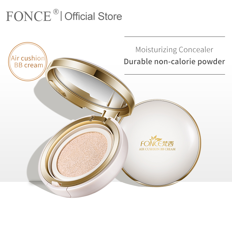 Hot DealsKorean cosmetics Air Cushion BB Cream Concealer Natural Snail Moisturizing Foundation Whitening Makeup Bare For Face Beauty