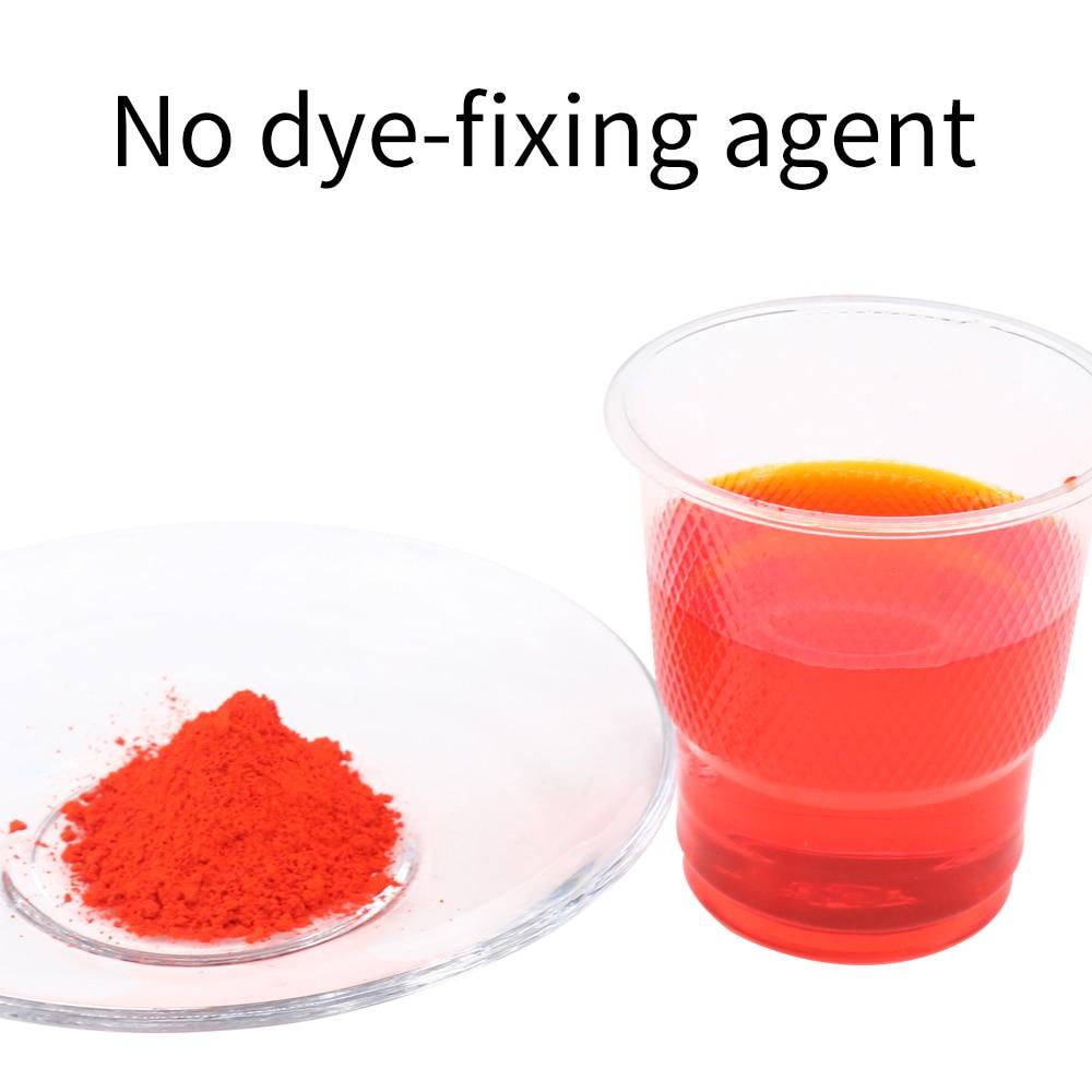 Orange Acid Powder Dyestuff Acrylic Paint Canvas Paint Direct Clothing Dye Textile Clothing Renovation Stain 10g Fabric Paint