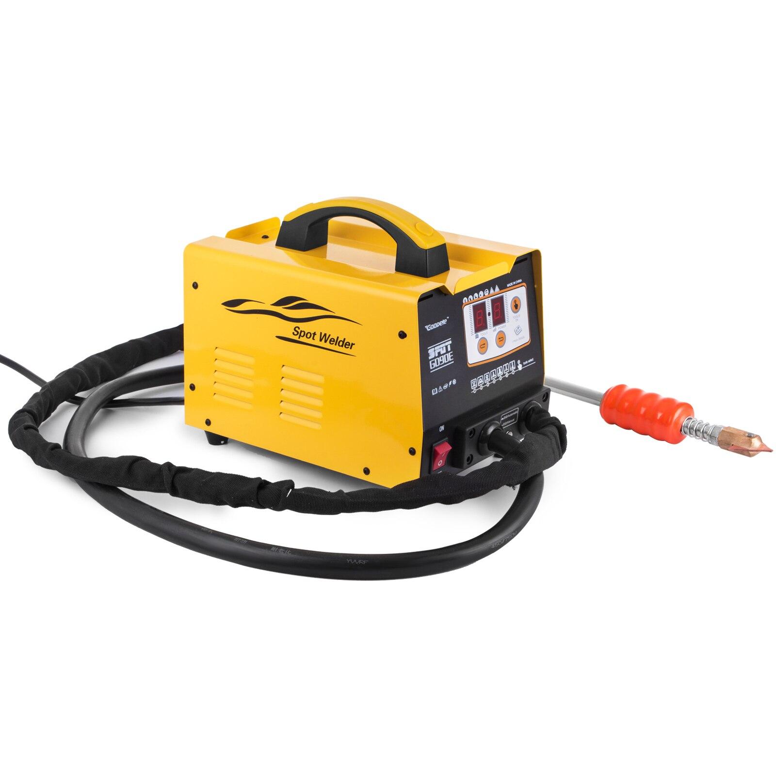 Tools : Dent Puller 3KW Welder Vehicle Repair Puller Kit Panel Spot Dent Spotter Multispot G90E for Auto Repair
