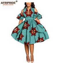 2020 африканские платья с принтом для женщин Анкара тканевые