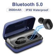 T1 Bluetooth 5.0 With Microphone Headset Stereo Wireless Noise Cancelling Earphone Sports Waterproof Ear Plugs with Charging box аксессуар чехол zte blade x3 zibelino classico black zcl zte x3 blk