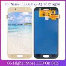 ЖК-дисплей с тачскрином в сборе для Samsung Galaxy A5 2017 A520, ЖК-дисплей с тачскрином в сборе для Samsung Galaxy A5 2017, A520, A520M, A520, дисплей с сенсорным экраном д...