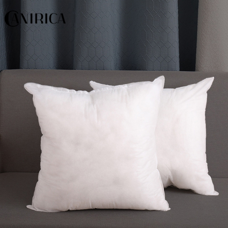 Pillow Core White PP Cotton Filler Thick Sofa Coussin Throw Pillow Core Health Care Cushion Filling Cojines Decorative