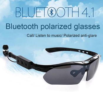 4 1 Stereo okulary bluetooth słuchawki okulary sportowe inteligentny okulary bluetooth inteligentne okulary sportowe na świeżym powietrzu okulary do jazdy tanie i dobre opinie ROBESBON 45MM LY01 MULTI 145MM Poliwęglan Unisex Jazda na rowerze