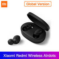 Xiaomi Redmi Airdots Global version optional TWS Earphone Stereo Wireless Noise Cancellation With Mic Handsfree AI Bluetooth 5.0