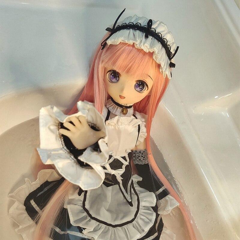 HuanChun 43CM Neue Ankunft Nette Reizende 1/4 Japan Anime Silcone Puppe Mit Metall Skeleton Action Figur Für Fans DIY mini Puppe