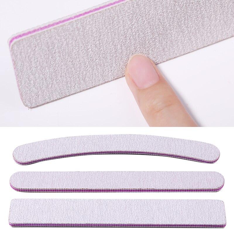Пилка для ногтей, буфер, шлифовальный блок для ногтей, Профессиональный Моющийся лак для ногтей, шлифовальный инструмент для маникюра и пед...