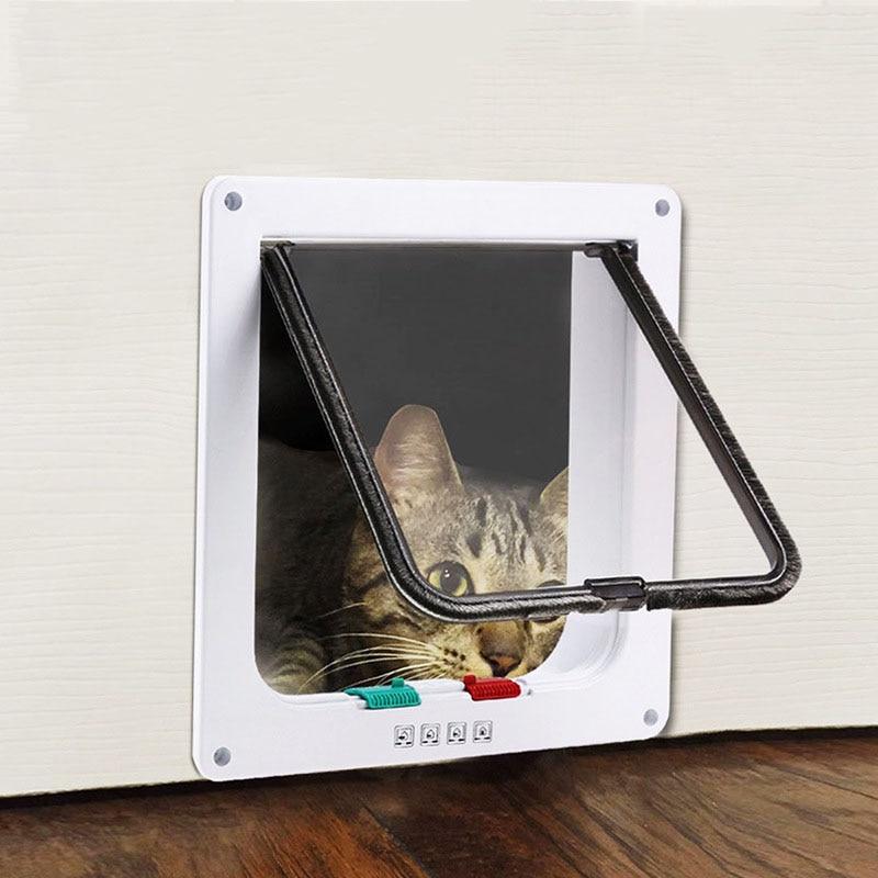 Cat Door Cat Dog And Outside Pet Supplies Cat Hole Pet Door Pet Automatic Door Suitable For All Kinds Of Doors And Windows