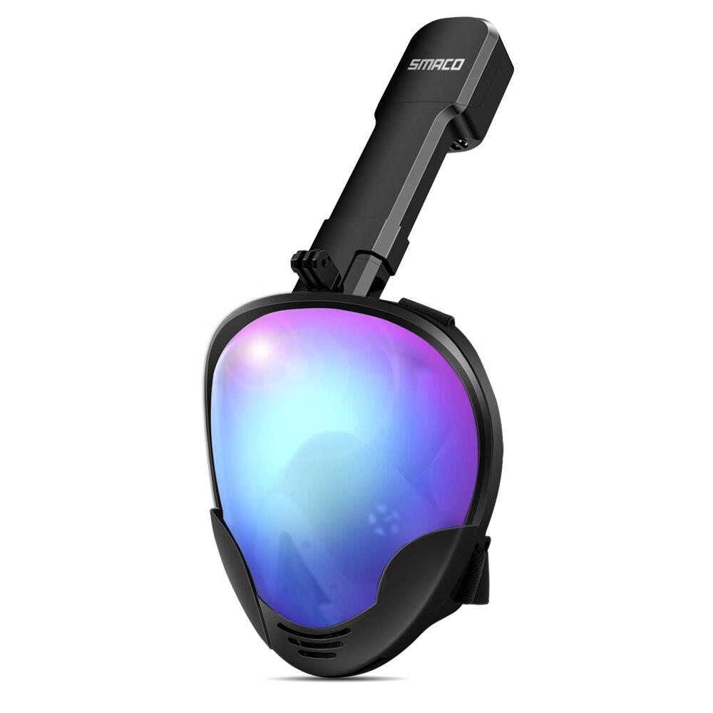 Scuba Diving Mask Full Face Anti Fog Underwater Snorkel Mask Set Swimming Snorkeling Mask For Gopro Camera Men Women Kids