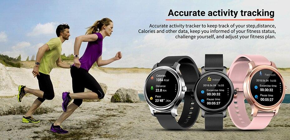 pressão arterial do esporte smartwatch relógio casal