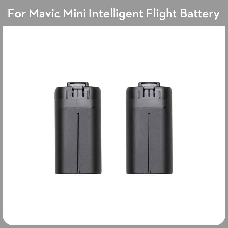 2pcs New Original DJI Drone Mavic Mini Battery 2400 MAh Intelligent Flight Battery For Mavic Mini Drone