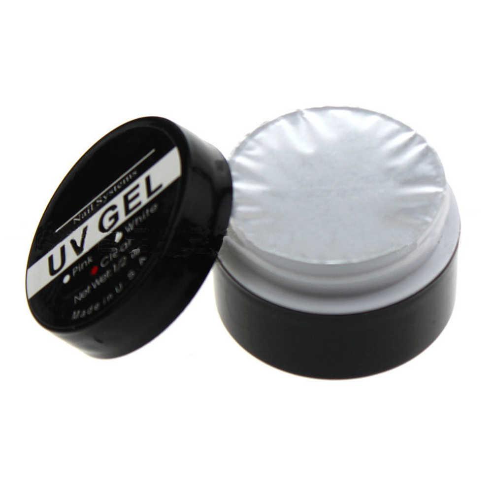1 زجاجة شفافة UV جيل للأظافر مانيكير أداة UV منشئ تمديد هلام مسمار الفن أحدث جودة عالية سهلة الاستخدام مجموعة تشذيب الأظافر