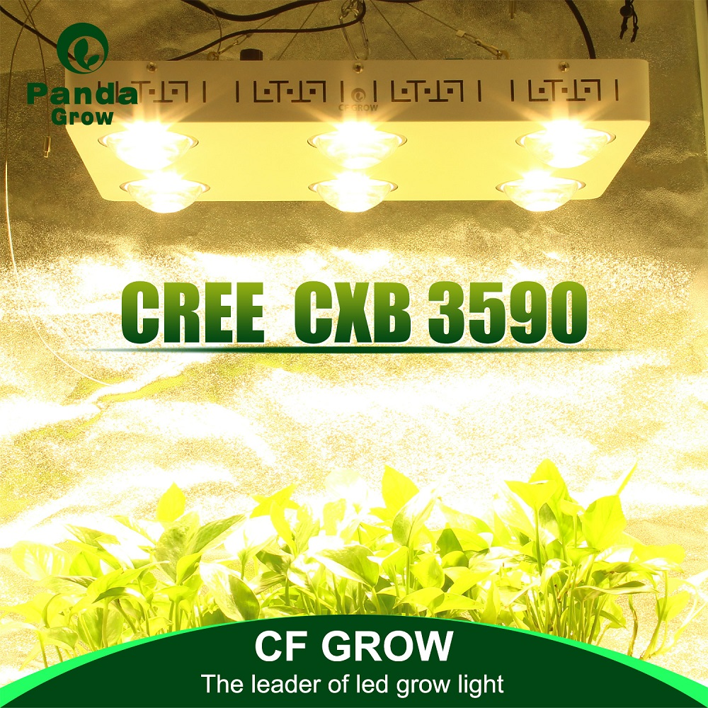 COB LED Grow Light Dimmable Full Spectrum CREE CXB3590 100W 200W 400W 600W Growing Lamp For Indoor Greenhouse Plant Growth Tent