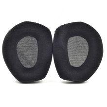 1 Pair Replacement foam flannelette Earpads Ear Cushion Cover for Sennheiser HDR RS175 Headphone Headset