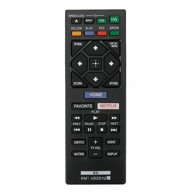 חדש RMT VB201U להחליף מרחוק עבור Sony Blu ray BDP S3700 BDP BX370 BDP S1700