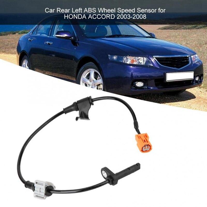 Otomobiller ve Motosikletler'ten Hız Sensörü'de Otomobil sensörleri araba için arka sol Abs tekerlek hız sensörü Honda Accord 2003 2004 2005 2006 2007 2008 57475  sea 013 araba sensörleri title=