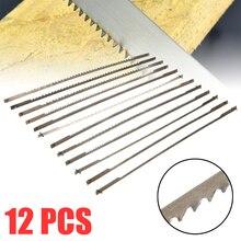 """12 Stuks 5 """"10/15/18/24 Tanden Vastgemaakt Scroll Zaagbladen Houtbewerking Zaagbladen Power Tools Accessoires"""