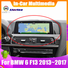 For BMW 6 Series F13 2013 2014 2015 2016 2017 Car GPS Navigation Player Audio Stereo HD Touch Screen all in one