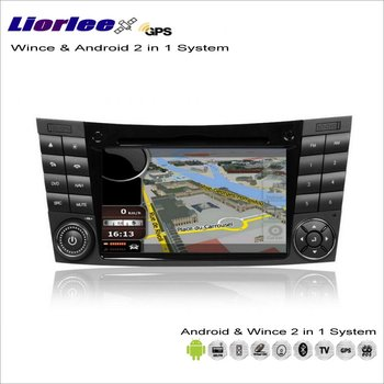 Liorlee For Mercedes Benz E Class W211/CLS C219 Car Android Multimedia Radio CD DVD Player GPS Navi Map Navigation Audio Video image