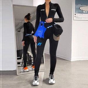 Cxuey motociclista macacão esportes de fitness wear empurrar para cima roupas de treino de ginástica para as mulheres roupa de corrida esportiva