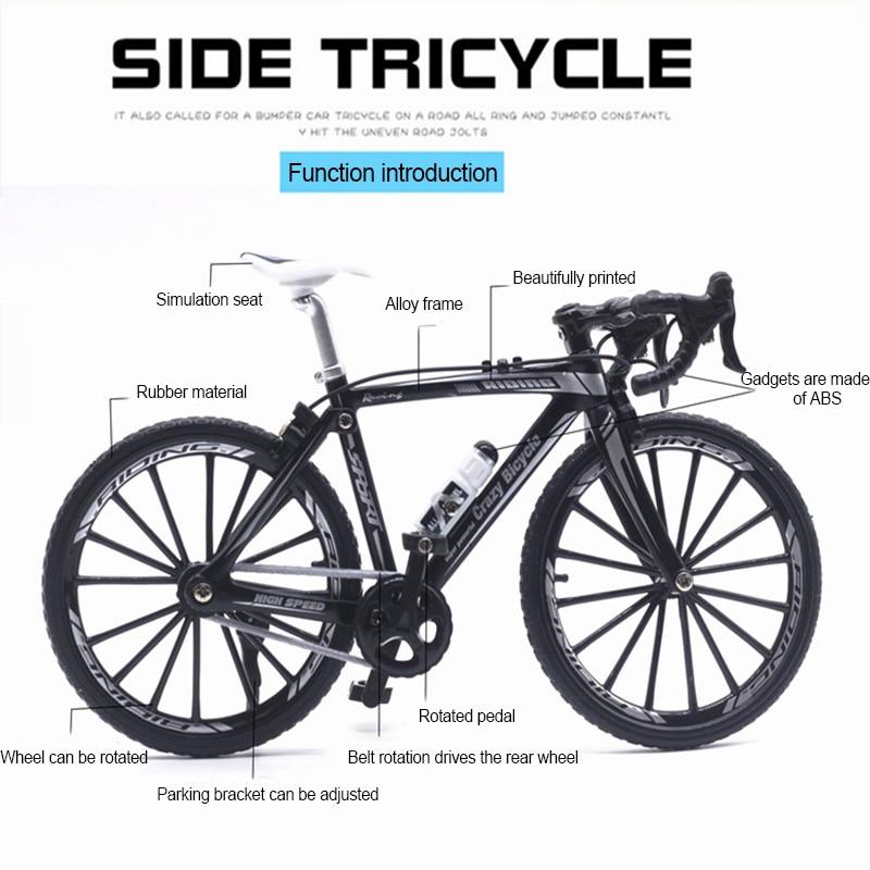Мини Пальчиковый Bmx велосипед пальчиковые велосипеды игрушки Bmx модель велосипеда соревнование дорожный велосипед гаджеты Новинка кляп иг...