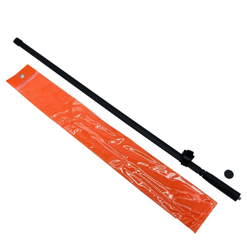 מכונות כביסה ומייבשים SMA-נקבה CS טקטי אנטנה Baofeng מחבר מכשיר הקשר 144 / 430Mhz 33/48/72 / 108cm עבור UV-5R UV-82 מוטורולה Ham CB רדיו (5)