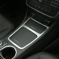 ABS Matte Interior Accessory Center Storage Box Ashtray Frame Trim for Mercedes Benz CLA GLA A Class W117 C117 2013 2018