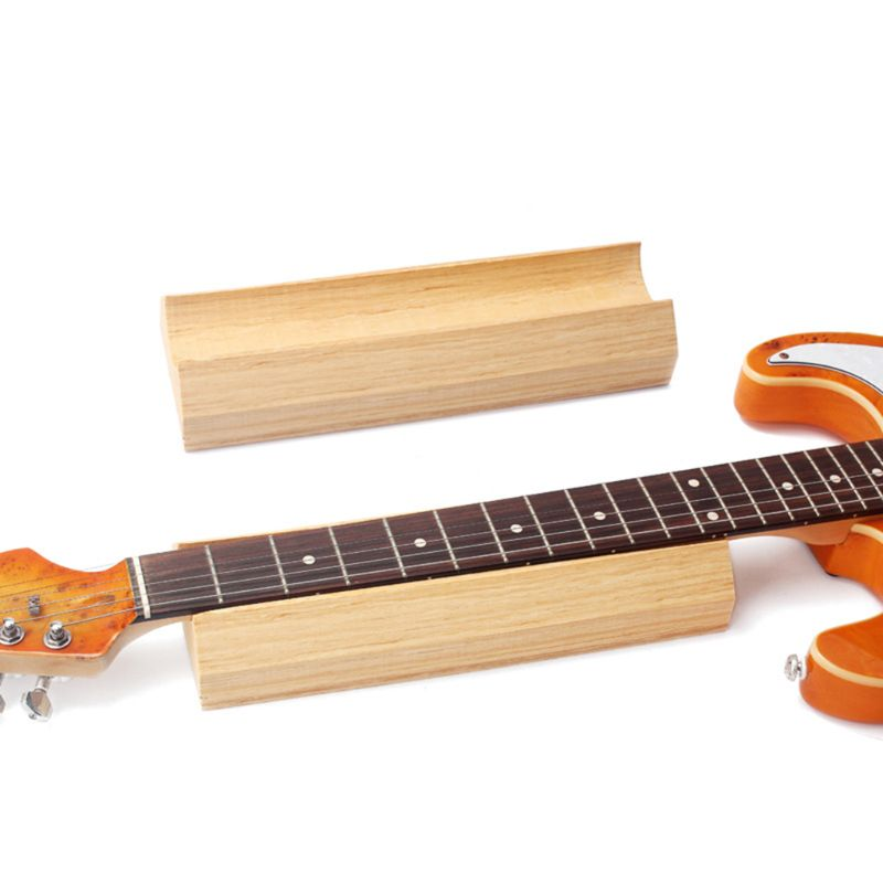1 Piece Wooden Musical Instrument Electric Guitar Stringed Instrument Repair Maintenance Tools Neck Pillow Tool
