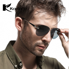 2019 Male Polarized Driving Sun Glasses Brand Designer Pilot Sunglasses Men Glass Lens Eyewear Shade Oculos De Sol Masculino