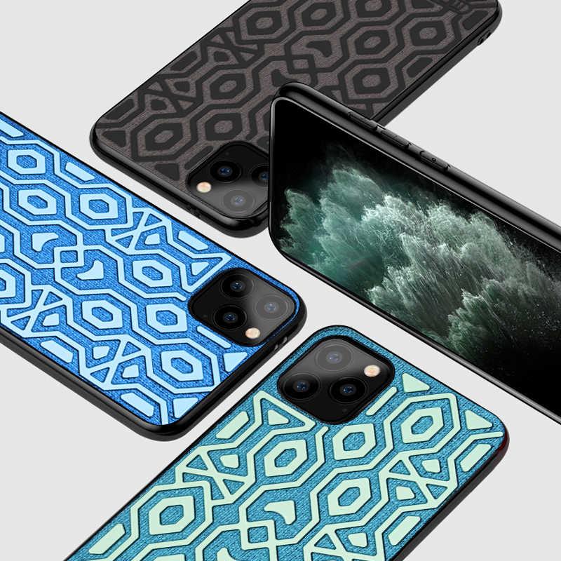 Para iphone 11 pro caso capa mofi para iphone 11 caso antiderrapante antiderrapante evitar queda slide mover skidproof 11 pro max caso verde